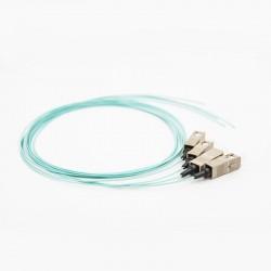 OM4 pigtail SC 50/125 1m