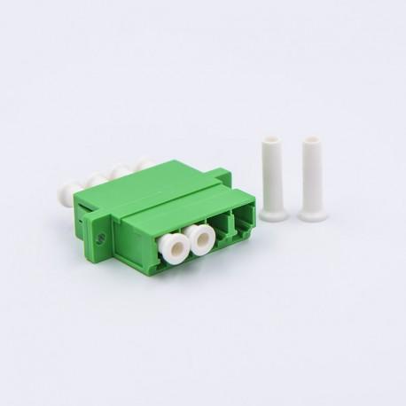 Adapter LC/APC Quad SM roheline