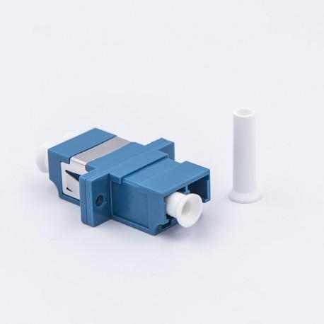 Adapter LC duplex SM sinine
