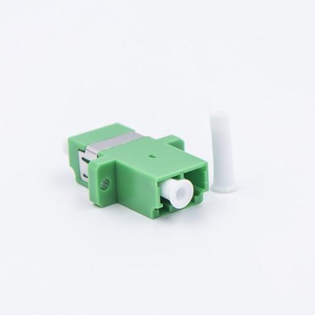 Adapter LC/APC duplex SM roheline 25 tk pakk