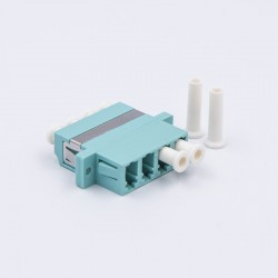 Adapter LC Quad OM3  AQUA