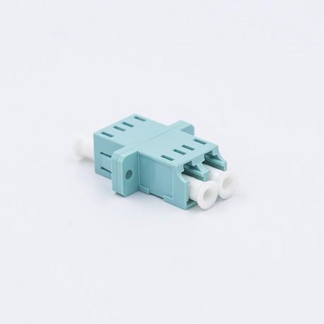 Adapter LC duplex OM3  aqua