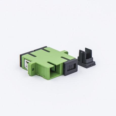 Adapter SCA duplex SM roheline