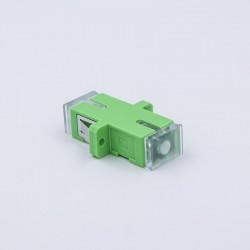Adapter SCA simplex SM roheline (25tk pakk)